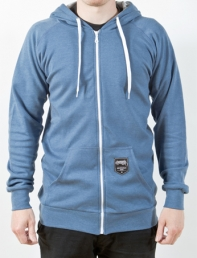 Paranoia Slight Zipper blau meliert